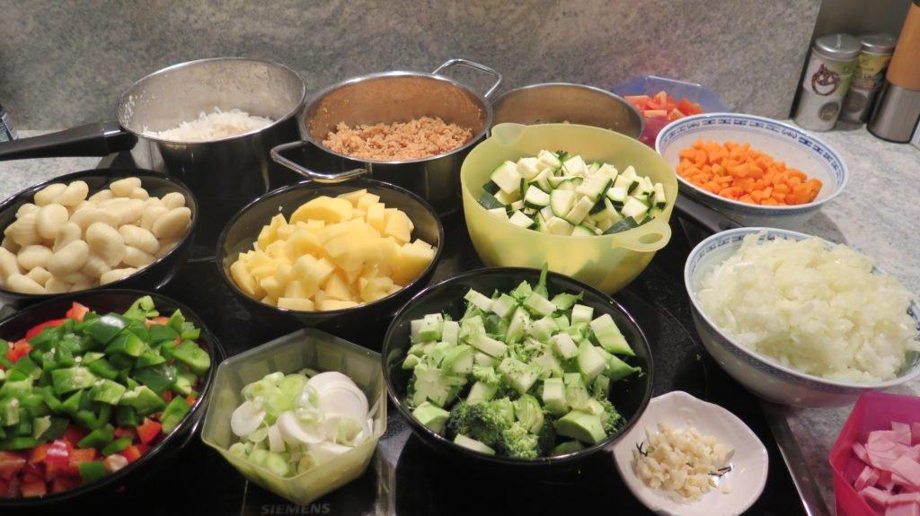 Meal Prep Wochenrezept #3: Vorbereitung