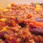 vegetarisches Chili - Chili sin Carne