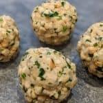 Vegane Semmelknödel ohne Ei